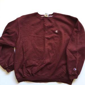 Vintage Champion maroon sweatshirt